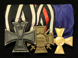 Adolf Heinrich - medal group