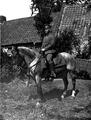 Ludwig Schmitt als Reiter