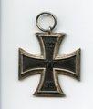 Eisernes Kreuz II. Klasse und Verleihungsurkunde von August Sadzulewski