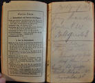 Tagebuch Friedrich Böttcher