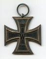 Eisernes Kreuz II. Klasse und Verleihungsurkunde von Johann Paulus