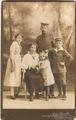 Erinnerung an den Ersten Weltkrieg, als Vater im Urlaub da war