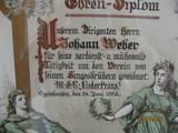 Johann Weber Musikkorps Reserve Infanterie Regiment 25