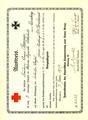 Anna Baumer, verheiratete Weber, als Kriegspflegerin im Ersten Weltkrieg