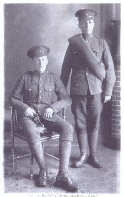 Louis Sayer and his cousin Arthur Pool