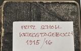 Fritz Scholls Kriegstagebuch 1915/16