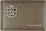 Album mit Propagandapostkarten und Ansichten von der Front von Georg Prien aus Braunschweig