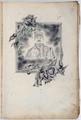 FRAD087_001. Les souvenirs de Pierre Morange au camp de Zossen en Allemagne.
