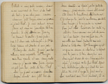 FRAD087_073. Le journal d'Adolphe Maurice Gandois.