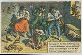 Feldpostkarte aus Trautenau, Etappe der Armee Woyrsch