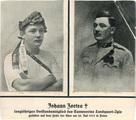 In Erinnerung an den Soldaten Johann Zortea, Mitglied des Turnvereins Landquart-Igis