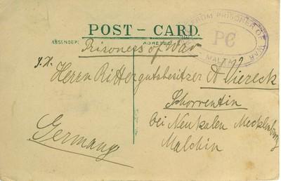 1918-12-10 Doussin, E. an  A. Viereck adr.jpg
