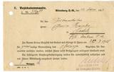 Bescheinigung Schwarzes Abzeichen Edwin Reinhold Heinke