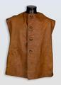 First World War British army leather jerkin