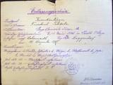 Dokumente Schröder, Friedrich