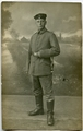 Leutnant der Reserve Ernst Hartung vom Feldartillerie-Regiment 247