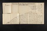 Landkaart Duitse leger uit 1916