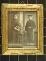 Foto von Julius Otto Ihle in Uniform und Frau Anne