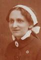 Maria Mohr, Kriegerwitwe und Rotekreuzschwester in der K.u.k. Armee