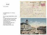 Postkarten des Landwehrmanns Johann Sänger an seine Kinder zwischen 1915-1918