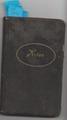 Tagebuch von Johann Sänger über seine Zeit in Trier zwischen 1915 und 1916