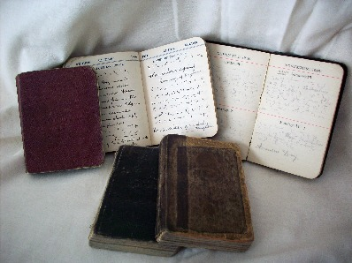 Arthur Linfoot's diaries