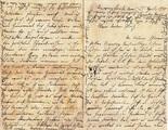 Brief an deutschen Kriegsgefangenen in Frankreich
