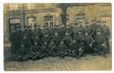 August Kater - Fussartillerie-Batallion 406 in der Reserve der OHL bei der 6. Armee in Tournai
