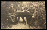 "Photo-Postkarte ""Landwehr Infanterie Regiment 36, 3. Machinengewehrkompanie"""