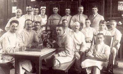 1918   Willy im Lazarett,2.JPG