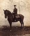 Willy Müller bei der Artillerie