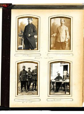 Les uniformes d'Auguste Constantin