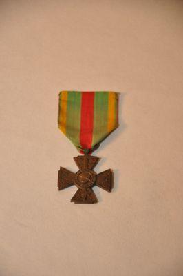 Croix du Combattant volontaire d'Alexis ROUDET