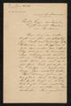 Brief van Karel Praet