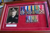 Fleet paymaster R.P Walker at Jutland