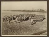 Foto von Arthur Hugo Göpfert mit seiner 8. Kompanie in Dresden