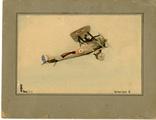 Feindflugzeug und Karten