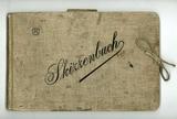 Skizzenbuch aus dem Ersten Weltkrieg von Paul Wauer