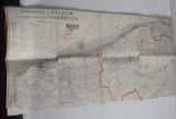 Kriegskarte von Belgien und Frankreich aus dem Besitz von Oskar Berthold Gottlieb Habicht