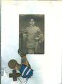 ALBERTO MONTEGUTI - DISINTEGRATO DA UNA GRANATA SUL MONTE CORMONS NEL MAGGIO 1917 ALL'ETà DI 19 ANNI