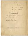 Flugtagebuch Militär- Flieger- Schule Carl Behrmann