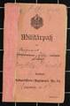 Militärpass, Soldbuch und Zeitungsartikel von Willy Händel