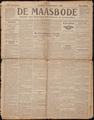 De Maasbode van zondag 21 november 1915