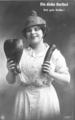 Dicke Bertha! Postkarte an Leonie Kübler