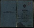 Sammlung Metzler - Militärpass