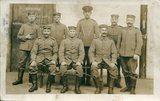 Postkarte von Melchior Jolk aus dem Kriegsgefangenenlager in Handforth