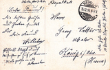 Feldpostkarten an Heimatmaler Georg Vetter aus (Bad) König