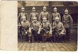 Joseph Kusenberg mit seinem Regiment 1914 in der Kaserne Mülheim