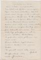 Brief eines Soldaten an seine Familie