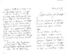 Brief Reinhold Sieglerschmidt